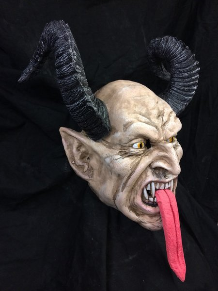 Deluxe Classic Rigid Krampus Mask