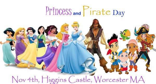 Admission - Princess and Pirate Day General Admission - AT THE DOOR ONLY, link to coupon inside!