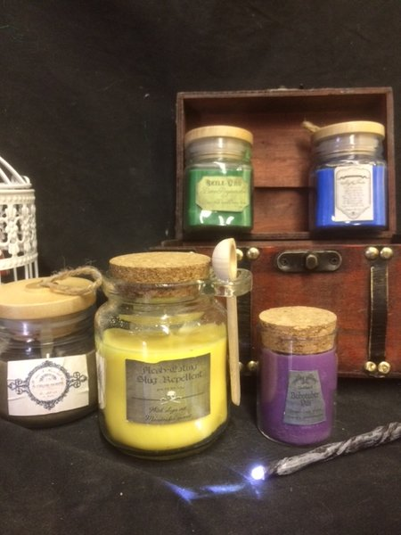 Alchemy Potion Candle Set