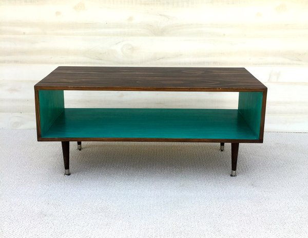 mid century modern coffee table handmade | custom handmade fruniture
