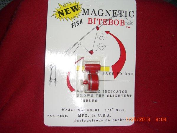 Bitebob bite bob magnetic fishing alert 2 sizes for Magnetic fish tape