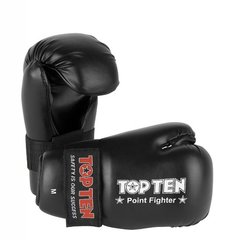 TOP TEN Point Fighter Gloves Black