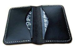 Credit / Business card wallet - black