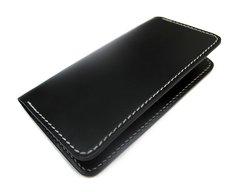 Checkbook cover - black