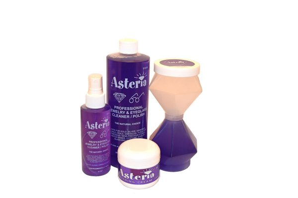 Asteria jewelry cleaner deluxe kit jewelry cleaner for Jewelry cleaning kit target