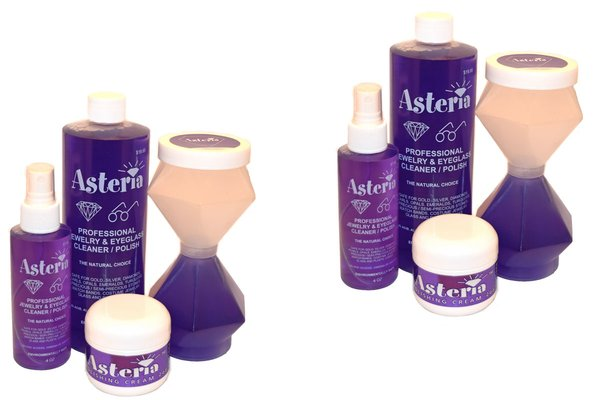Asteria Jewelry Cleaner Deluxe Kit - 2 Deluxe Kits!