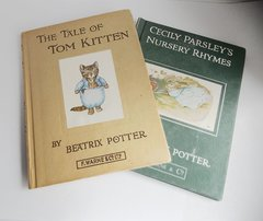 2 Beatrix Potter Books - The Tale of Tom Kitten & Cecily Parsley's Nursery Rhymes