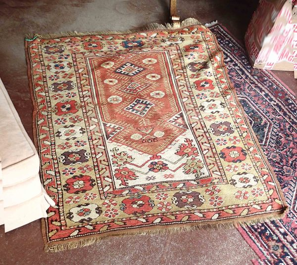 Oriental Antique Hand Knotted Rug