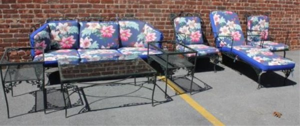 Woodard Vintage Iron Outdoor Furniture