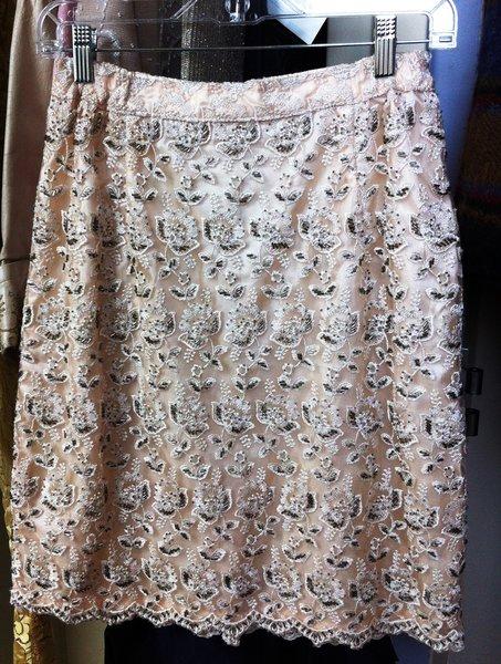 Vintage Beaded Skirt