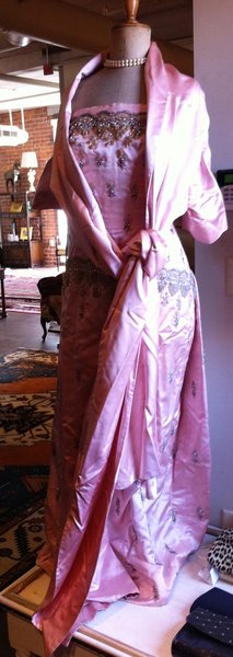Antique Beaded Dress and Jacket