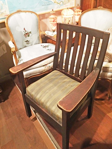 Arts & Crafts Mission Circa 1910 Antique Chair