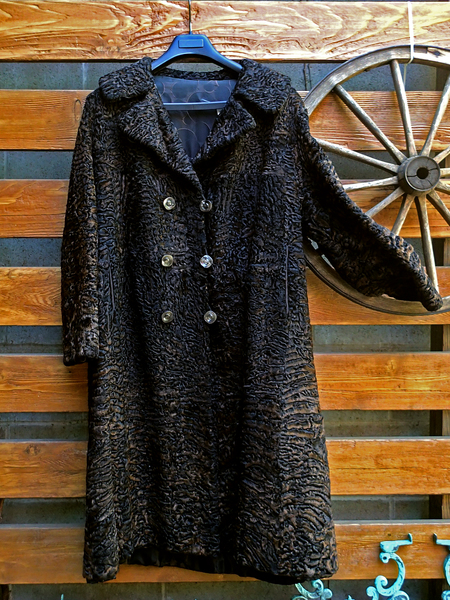 Swakara South West African Karakul Lamb Coat