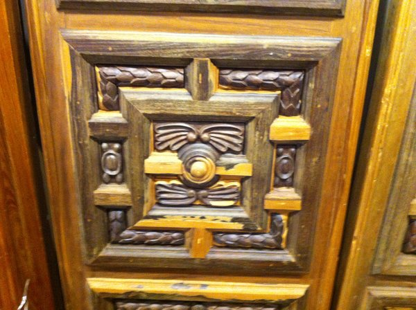 Large Handcarved Ironwood Panels