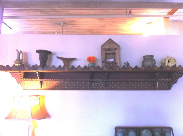 Moroccan Antique Wall Shelf, Early 20th Century
