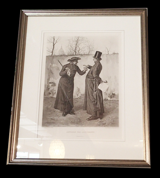 "Framed Print ""Between The Arguments"" by Leo Herrmann"