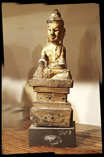 18th Century Antique Hand Carved Buddha