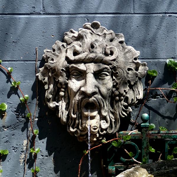 Bacchus Wall Fountain