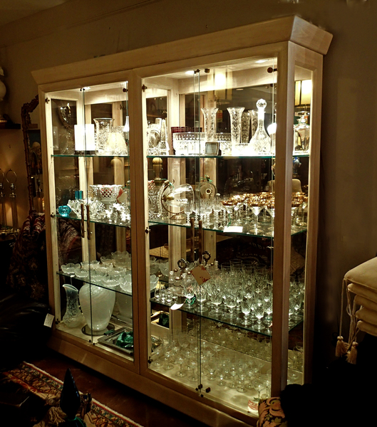 1980's Henredon Display Case