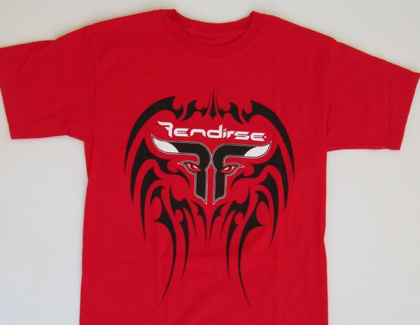 Shirt - Rendirse - T-Shirt - Tribal Red
