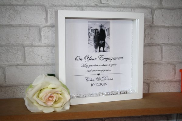 engagement frame - Engagement Picture Frames