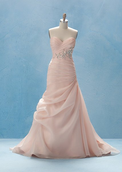 ALFRED ANGELO DISNEY WEDDING GOWN SLEEPING BEAUTY 218 CHEAP DRESS