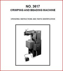 PEXTO No. 3617 CRIMPING AND BEADING MACHINE
