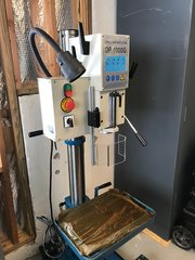 USED BAILEIGH GEAR DRIVEN DRILL PRESS DP-1000G