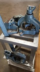 Used Roper Whitney No. 455 Combo Iron Worker Shear, Notch & Bender