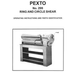 PEXTO No. 299 RING & CIRCLE SHEAR