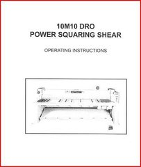 PEXTO SHEET METAL 10M10 DRO POWER SQUARING SHEAR