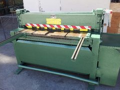 USED 4 Ft. x 12 Ga. Mechanical Shear