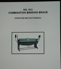PEXTO No. 812 COMBINATION BENDING BRAKE