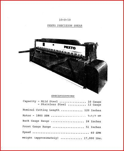 hossfeld bender instruction manual pdf