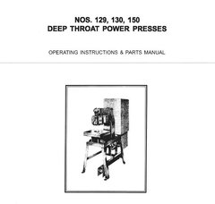 PEXTO DEEP THROAT POWER PRESSES 129, 130, 150