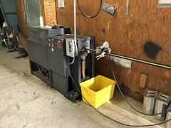 Used Vane Turning and rail machine