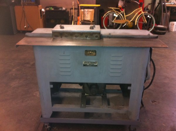 Used Lockformer Pitts 20 Gauge Machine Just Pitts