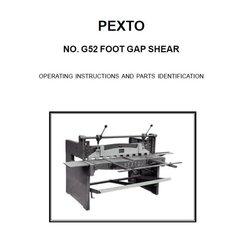 PEXTO G52 FOOT GAP SHEAR
