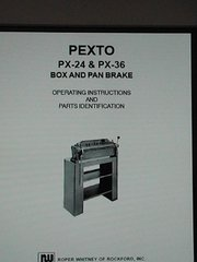 PEXTO PX-24 & PX-36 BOX AND PAN BRAKE
