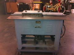 USED LOCKFORMER PITTS 20 GAUGE MACHINE JUST PITTS ROLLFORMER