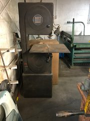 Used Boice Crane Vertical Bandsaw