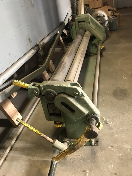 Used Pexto 4 X 18 Gauge Slip Roll New And Used Machinery