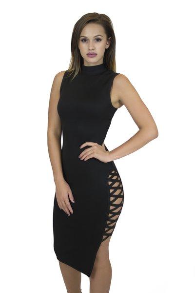 Margua Black Bandage Dress