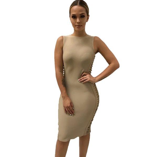 Kara Open Side Bandage Dress
