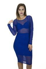 R. Blue Mesh Dress