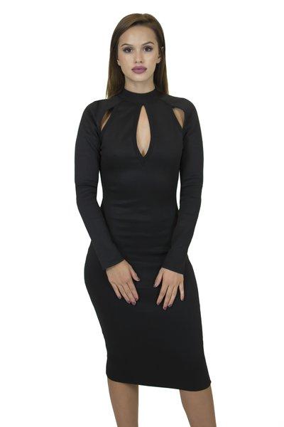 Eden Black Bandage Dress