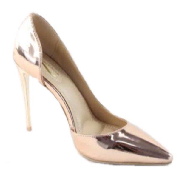 Aleani Gold Heels