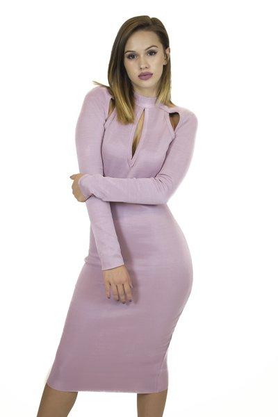 Eden Blush Bandage Dress