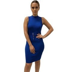 Julianna Royal Blue Waist Corset Bandage Dress