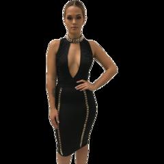 Rutila Black Dress